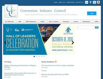 Thumbshot of Conventionindustry.org