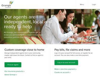 grangeinsurance.com screenshot