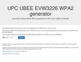 ubee.deadcode.me screenshot