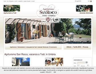 agriturismo-sanrocco.com screenshot