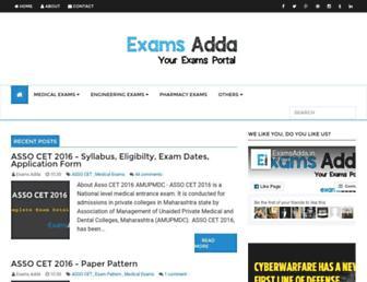 examsadda.in screenshot
