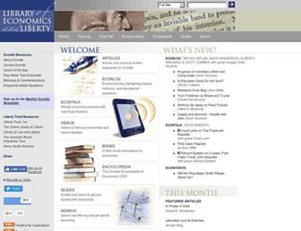 econlib.org screenshot