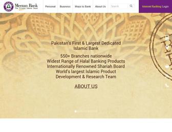 Thumbshot of Meezanbank.com