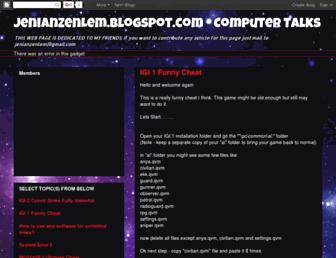 jenianzenlem.blogspot.com screenshot