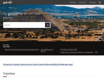 gob.mx screenshot