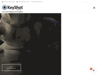 keyshot.co.uk screenshot