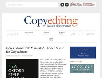 copyediting.com screenshot