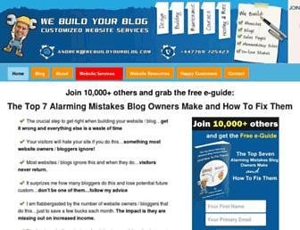 Thumbshot of Webuildyourblog.com