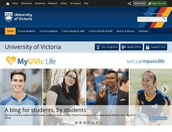 Thumbshot of Uvic.ca