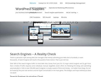 Thumbshot of Wordpresssupplies.com
