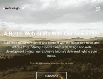 ewebdesign.com screenshot