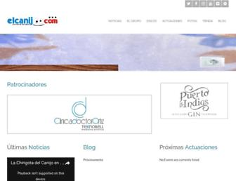 elcanijo.com screenshot