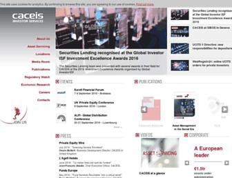 caceis.com screenshot
