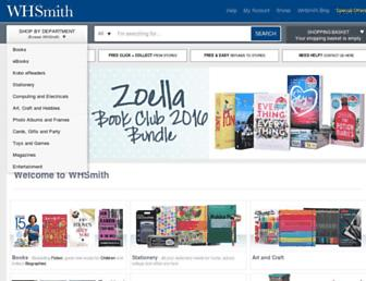 whsmith.co.uk screenshot