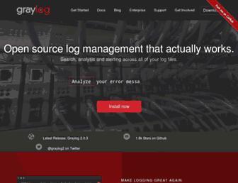 graylog.org screenshot