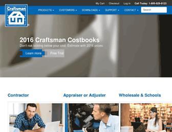 craftsman-book.com screenshot