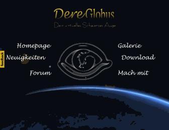 dereglobus.orkenspalter.de screenshot
