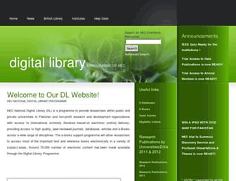 Thumbshot of Digitallibrary.edu.pk