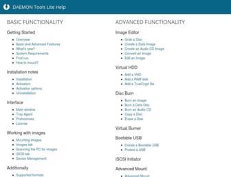 daemon-help.com screenshot