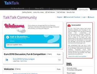 Thumbshot of Talktalkmembers.com