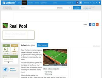 real-pool.en.softonic.com screenshot