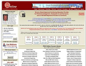 pdhonline.com screenshot