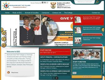 eec.edu.za screenshot