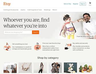 etsy.com screenshot