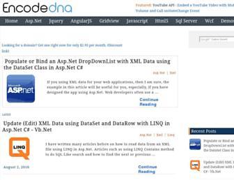 encodedna.com screenshot