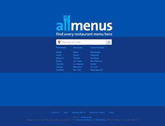 Thumbshot of Allmenus.com