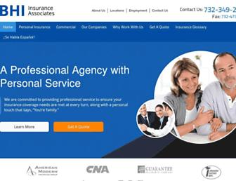 bhi-insurance.net screenshot