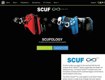 Screenshot for scufgaming.com