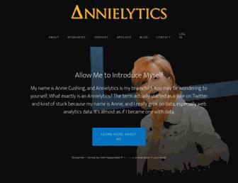 annielytics.com screenshot
