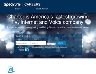 jobs.spectrum.com screenshot