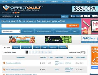 Thumbshot of Offervault.com