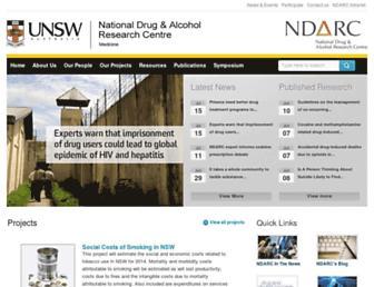 ndarc.med.unsw.edu.au screenshot