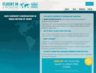 fluentin3months.com screenshot