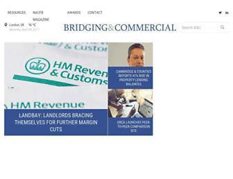 bridgingandcommercial.co.uk screenshot