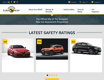 euroncap.com screenshot