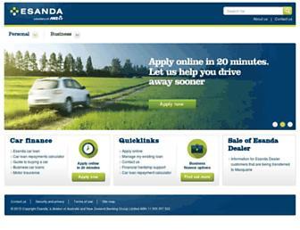 esanda.com screenshot