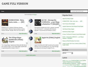 game-fullversion.blogspot.com screenshot