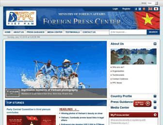 presscenter.org.vn screenshot