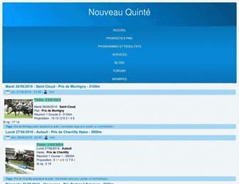 nouveauquinte.com screenshot