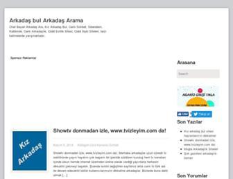 kizarkadasbul.net screenshot