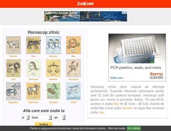 zodii.net screenshot