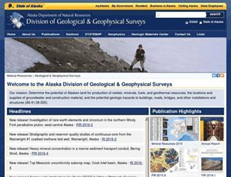 dggs.alaska.gov screenshot