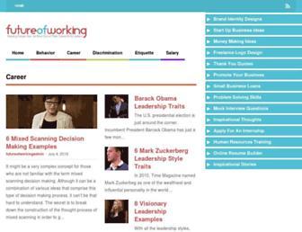 futureofworking.com screenshot