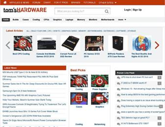 Thumbshot of Tomshardware.co.uk