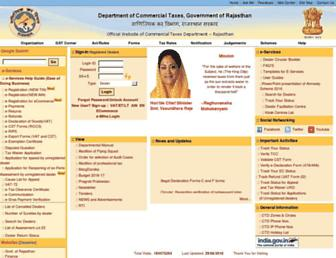 Thumbshot of Rajtax.gov.in