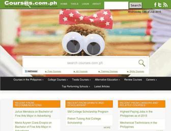 courses.com.ph screenshot